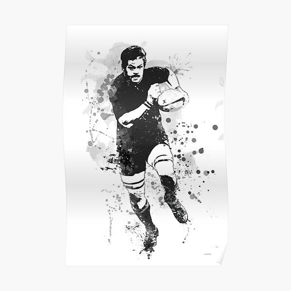 Joueur de rugby Poster