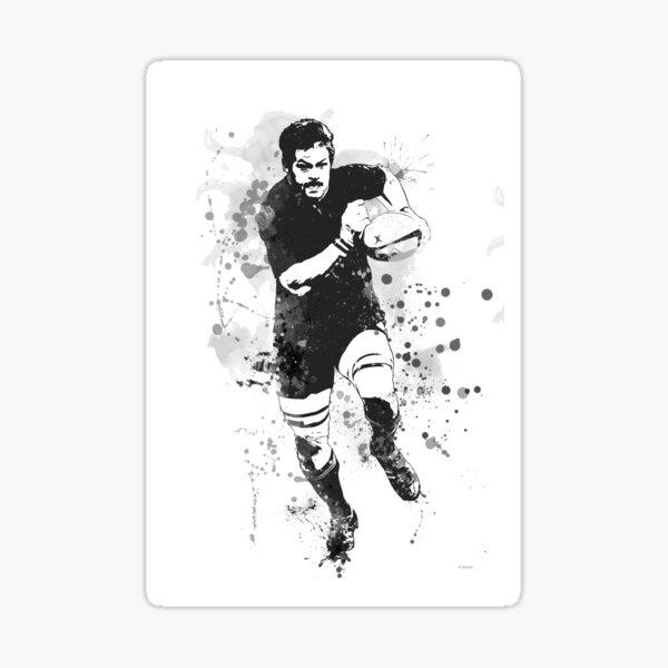Jugador de rugby Pegatina