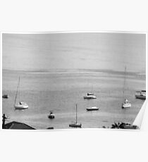 Harbour Yachts Poster