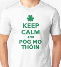 Keep calm and pog mo thoin Unisex T-Shirt