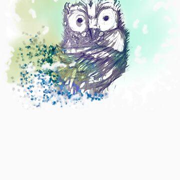 Athena's Owl by SabbaProd
