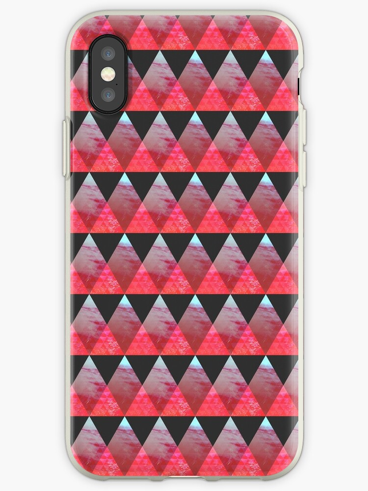 Red Pyramid Pattern by absolutewhite