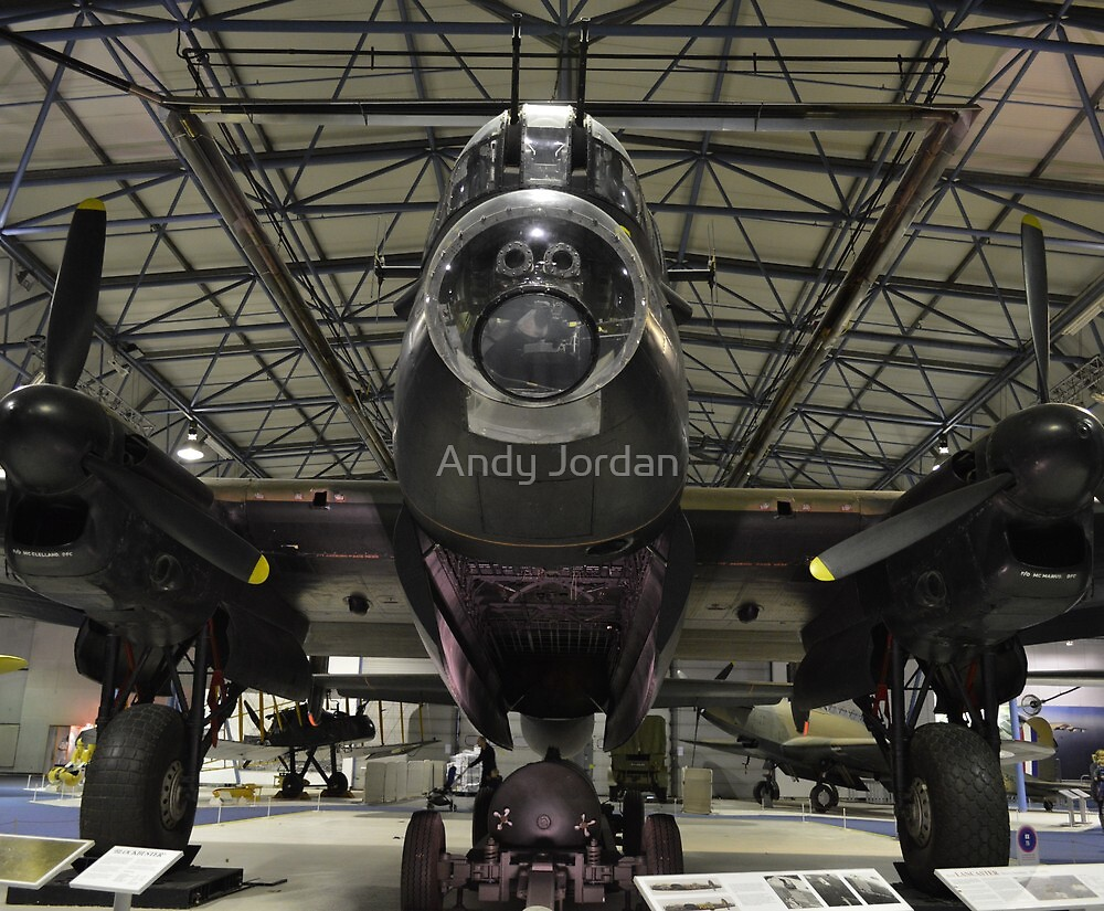 Lancaster (S for Sugar) by Andy Jordan