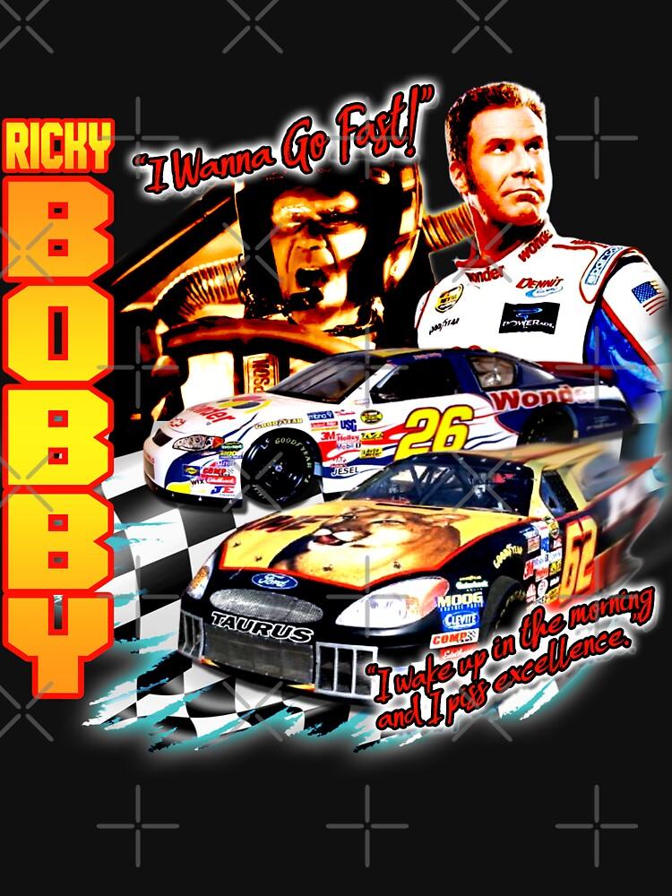 Ricky Bobby Racing Shirt by 90sOE
