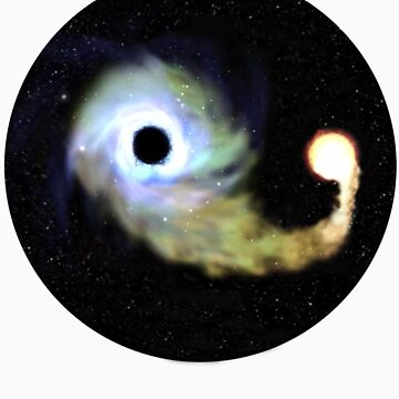 Black hole Yin Yang by Amrali