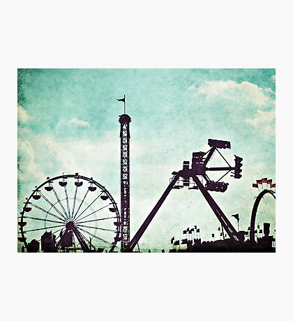 At the Fair Photographic Print