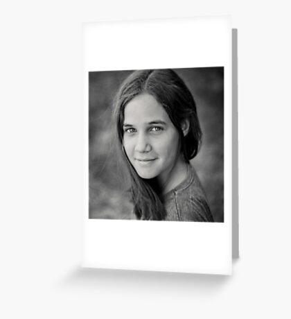 Gracie, sweet and simple Greeting Card