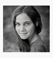 Gracie, sweet and simple Photographic Print