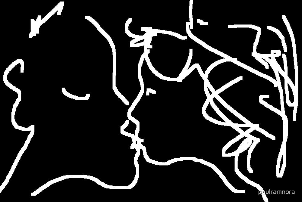The Kiss II -(050214)- Digital artwork/MS Paint by paulramnora