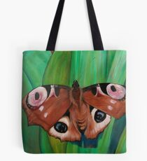 The Peacock Butterfly  Tote Bag