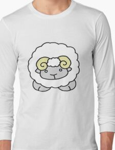 cute aries Long Sleeve T-Shirt