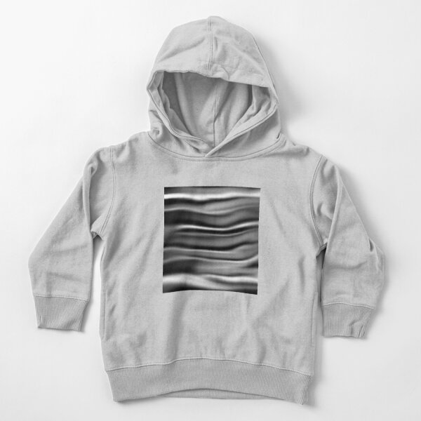 Silver glossy folds Toddler Pullover Hoodie