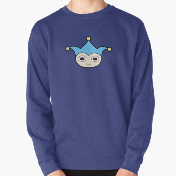 Blue Badger Mascot Pullover Sweatshirt