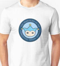 Blue Badger - Defender of truth, guardian of proof! Unisex T-Shirt