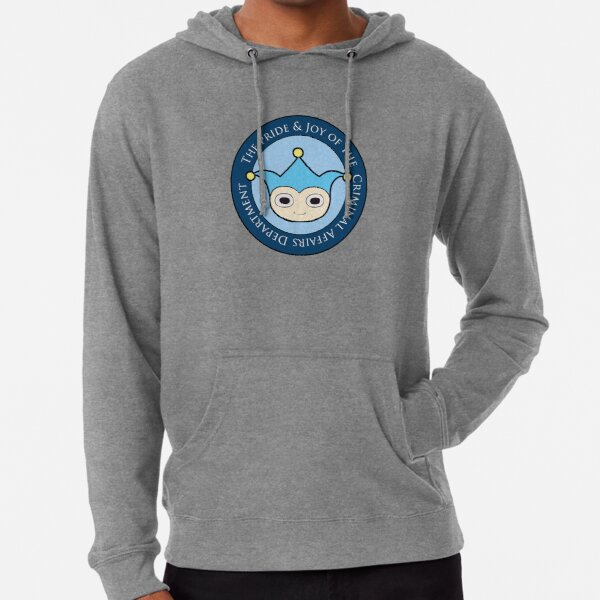 Blue Badger - Defender of truth, guardian of proof! Lightweight Hoodie