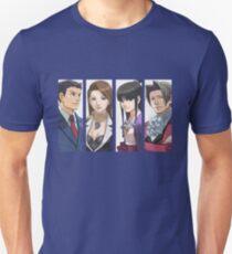 Camiseta ajustada Ace Attorney Panels
