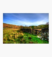 Duddon Valley, Lake District Photographic Print