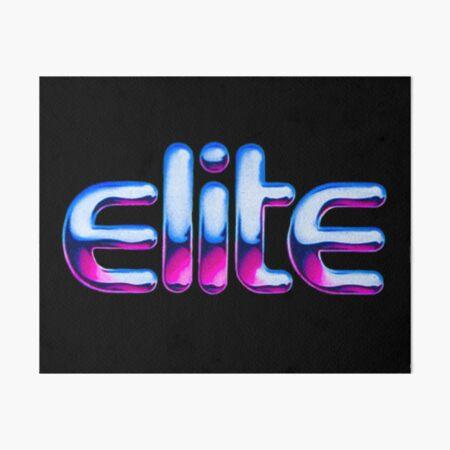 Elite (Pink) Art Board Print