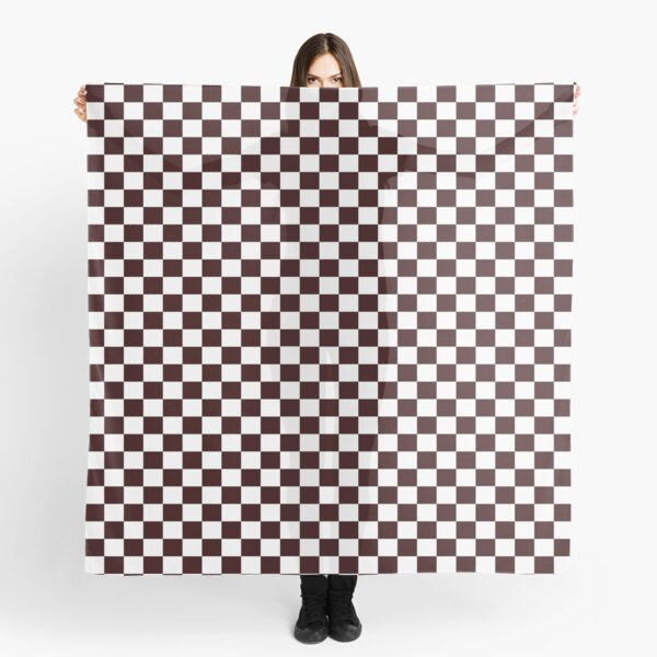 Timeless checks on clothing and accessories Scarf