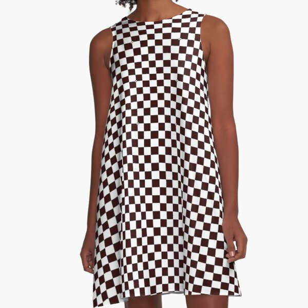 Timeless checks on clothing and accessories A-Line Dress