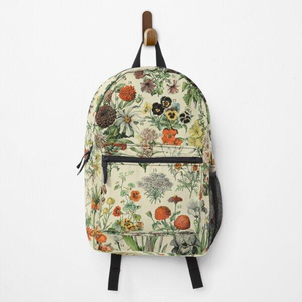 Adolphe Millot Fleurs Vintage Flowers Backpack