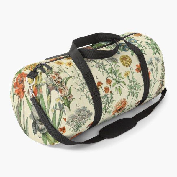 Adolphe Millot Fleurs Vintage Flowers Duffle Bag