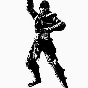 Mortal Kombat NOOB SAIBOT by DeadlyGraphics