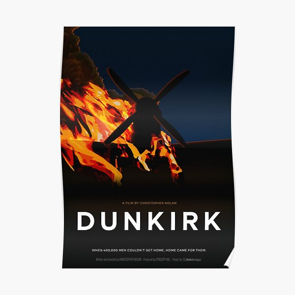 Dunkirk Movie Poster Poster
