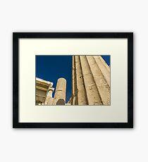 Greek Ruins Framed Print