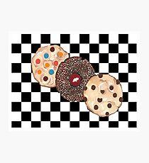 Eat Cookies Photographic Print