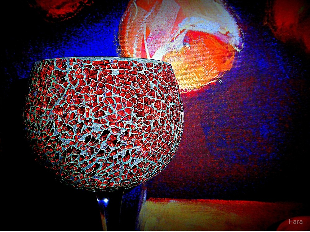 The Mosaic Goblet by Fara