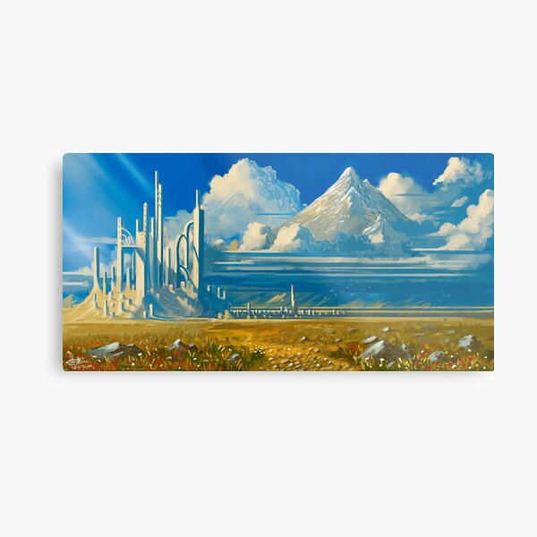 White Kingdom Metal Print