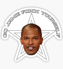 Go Jamie Foxx Yourself Sticker