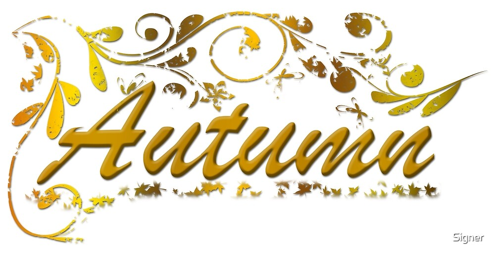 Autumn by Signer