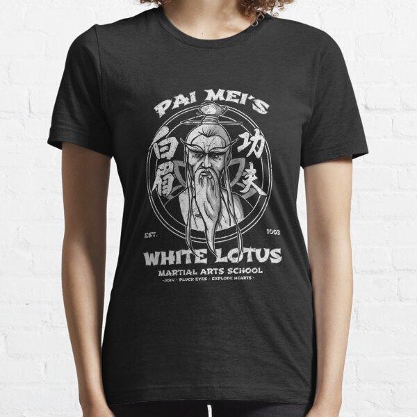 loto blanco Camiseta esencial
