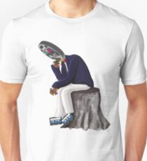 The Thinker - Retro Geek Chic Unisex T-Shirt