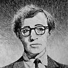 Woody Allen portrait by nicolasjolly