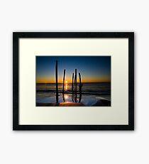 Dead Pier Framed Print