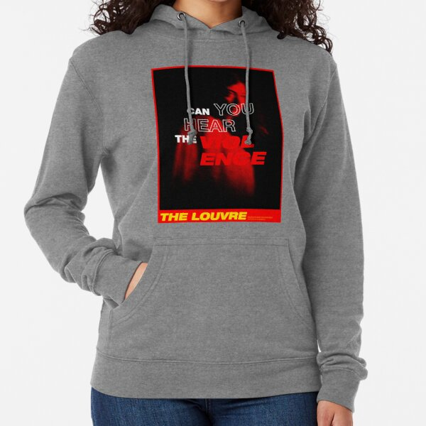 Lorde - Can You Hear The Violence - The Louvre Lightweight Hoodie