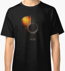 Colour Acoustic Guitar Hi-Lite Classic T-Shirt
