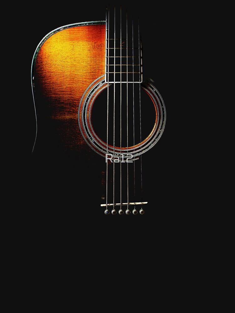 Colour Acoustic Guitar Hi-Lite | Unisex T-Shirt