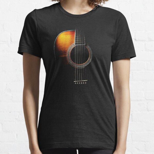 Colour Acoustic Guitar Hi-Lite Essential T-Shirt