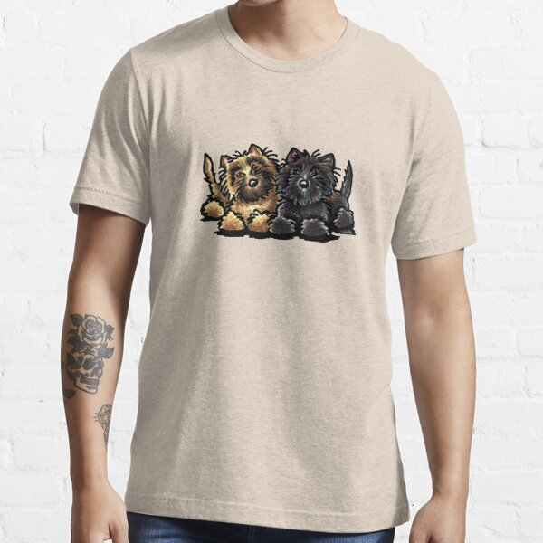 Two Cairn Terriers Essential T-Shirt