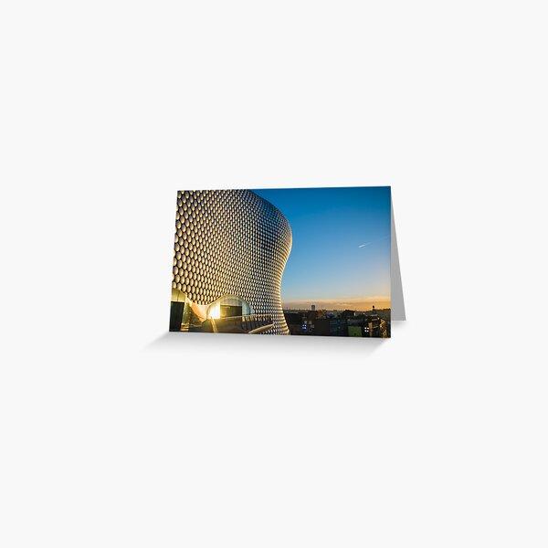 Winter Sunrise at Selfridges Greeting Card