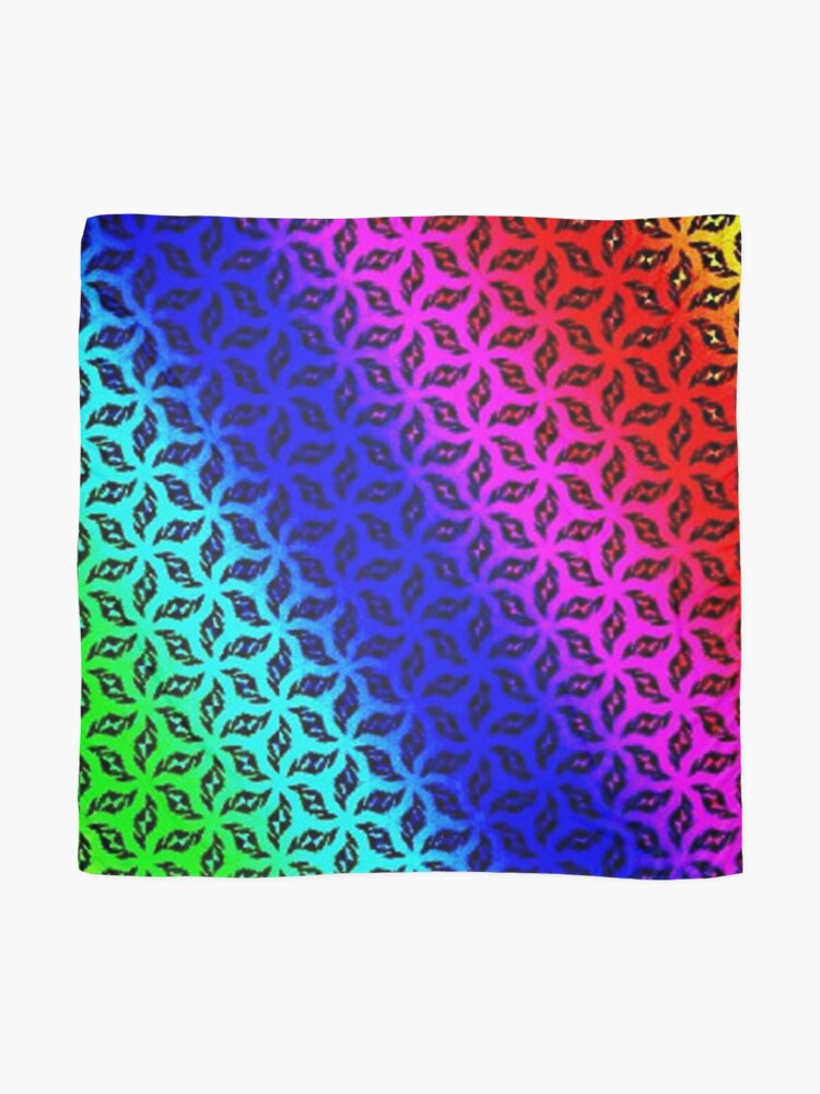 Alternate view of PRISMATIC Scarf