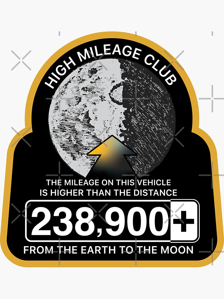 High Mileage Club • Lunar Equivalency Collection • From Earth To The Moon by brainthought