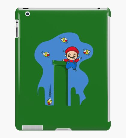 Stay away from my pipes  iPad Case/Skin