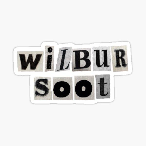 Wilbur Soot Sticker