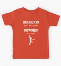 Newsies Sell Papes Kids Clothes