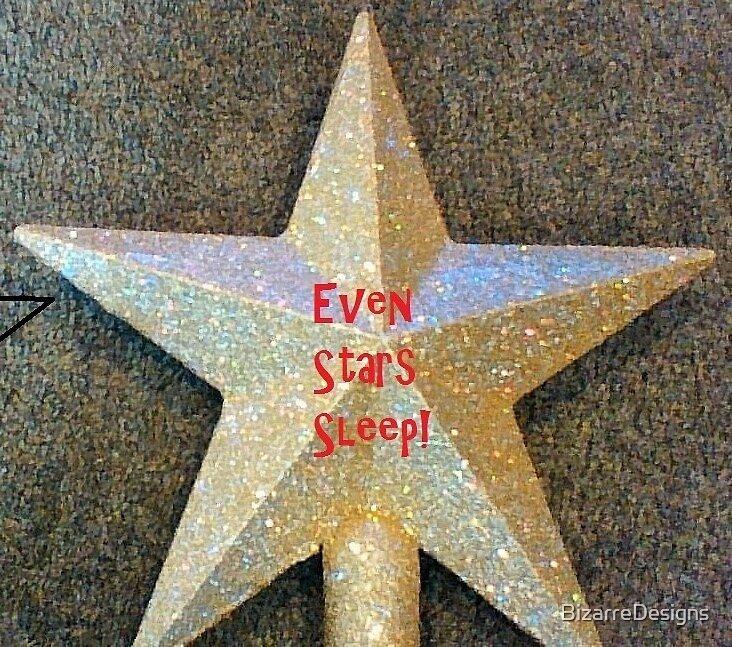 Even Stars sleep by BizarreDesigns